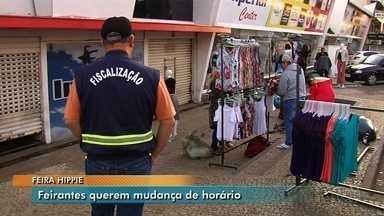 Nova decisão muda horários de feiras livres em Goiânia - Após acordo, entidades que representam os feirantes se disseram satisfeitas com resultado.