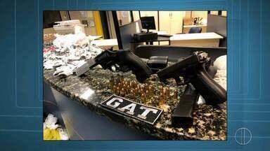 Chega a quase 100 o número de armas apreendidas na Região dos Lagos - Assista a seguir.