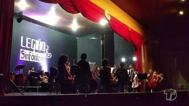 Orquestra e Filarmônica de Santarém vão participar de Festival Internacional de Música - A apresentação será em Belém, no domingo (10), às 11h, no Theatro da Paz.