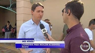 Cuidado com o trânsito é tema de campanha em Jacareí - Veja como funciona a iniciativa.