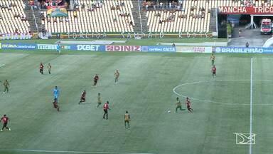 Sampaio vence Oeste pela série B do Campeonato Brasileiro - O jogo aconteceu no sábado (9), no estádio Castelão em São Luís.