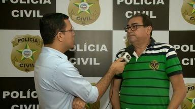Suspeito de matar professor em Porto Calvo é preso e confessa crime, diz polícia - Segundo a polícia, Thiago Santos da Silva foi aluno do professor e confessou o crime. Ele disse que rouba para pagar custos de processos de parente preso.