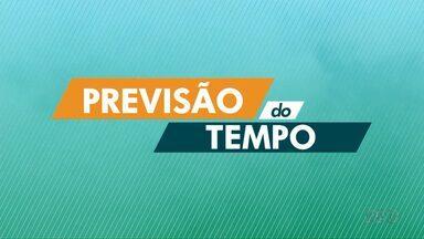 Há possibilidade de chuvas isoladas para a tarde desta quarta-feira (13) - O frio deve chegar na quinta-feira (14), com uma massa de ar frio que ganha força no norte do Paraná, a máxima em Londrina deve chegar aos 21º.