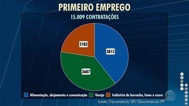Contratações do comércio movimentam empregos em Presidente Prudente - Dados foram divulgados nesta terça-feira (12).