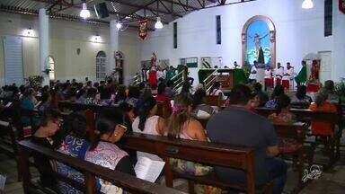 Crato celebra a festa do Sagrado Coração de Jesus - Evento reuniu vários fiéis.