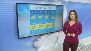Confira a previsão do tempo para esta quarta-feira (13) no Sul de Minas - Confira a previsão do tempo para esta quarta-feira (13) no Sul de Minas
