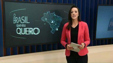 Moradores de Anahy ainda não participaram da campanha Brasil que eu quero - Para participar basta gravar um vídeo dizendo que Brasil você quer para o futuro.