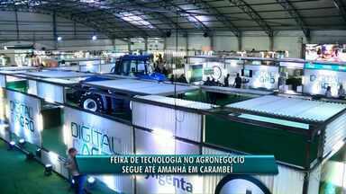 Feira que mostra uso da tecnologia no agronegócio vai até esta quinta (14) em Carambeí - O evento mostra novidades tecnológicas para o setor.