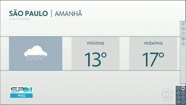 Quinta-feira será marcada pela chuva e pelo frio, na Grande São Paulo - Próximos dias seguem sem grandes mudanças, dizem os meteorologistas.
