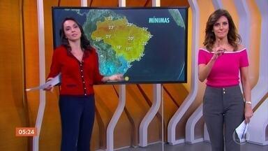 Temperaturas caem em Mato Grosso do Sul - No Sul do país, a tendência é do frio continuar e aumentar no final de semana.