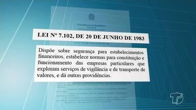 Para exercer função de vigilante profissional é necessário ter registro - Uma operação da Polícia Federal fiscalizou casas de shows em Santarém e constatou irregularidades.
