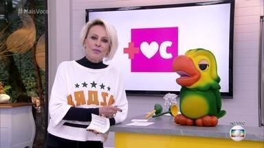 'Mais Você' voltará a ser exibido após a primeira fase da Copa do Mundo - Ana Maria Braga explica as mudanças na programação e avisa que o 'Vídeo Show' terá uma versão exclusiva e ao vivo no Gshow