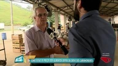 Prefeitura de Cachoeiro fala sobre preço de alimentos 15 dias após greve dos caminhoneiros - Greve terminou no dia 30 de maio.