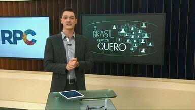 Que Brasil você quer para o futuro? - Moradores de Entre Rios do Oeste são convidados a participar da campanha.