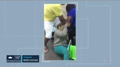 Funcionários de hospital na ZN reclamam da violência de pacientes e acompanhantes - Os funcionários dizem que a falta de médicos aumentou a tensão no hospital. Há quatro dias, uma enfermeira foi atacada.