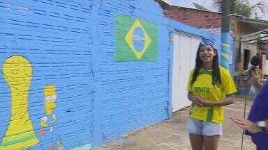 Expectativa para a Copa do Mundo é grande para a estreia do time brasileiro - Cícero Moura