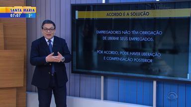 Cláudio Brito: assistir aos jogos do Brasil no trabalho depende de acordo com patrão - Veja o comentário.