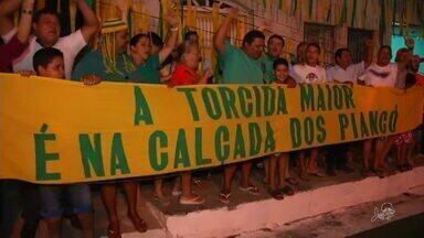 Família se reúne em grande torcida para o Brasil no Crato - Saiba mais em g1.com.br/ce