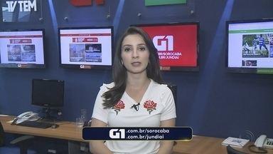 Mayara Corrêa traz os destaques do G1 Sorocaba e Jundiaí desta sexta-feira - A repórter Mayara Corrêa traz os destaques do G1 Sorocaba e Jundiaí desta sexta-feira (15).