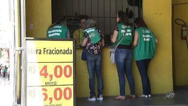 Agência fiscaliza se estacionamento de Fortaleza cobram hora fracionada, como exige a lei - Confira mais notícias em g1.globo.com/ce