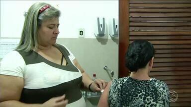 Vacinação contra a gripe continua em Sapucaia, RJ - Campanha continua aberta para toda a população.