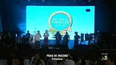 Confira as atrações que ainda vão subir no palco do São João de Fortaleza - Confira mais notícias em g1.globo.com/ce