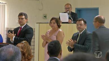 Homenagens e honrarias no Fórum marcam os 185 anos da Comarca de Santarém - O encontro reuniu personalidades e pessoas que se destacaram por prestar serviços ao Fórum de Justiça.