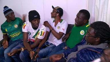 #AGenteTorceJunto: conheça um pedaço da torcida do Senegal em Passo Fundo - Assista ao vídeo.