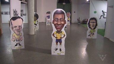 Museu Pelé, em Santos, comemora quatro anos - Data foi celebrada com programação especial.
