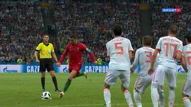 Portugal 3 x 3 Espanha - Íntegra