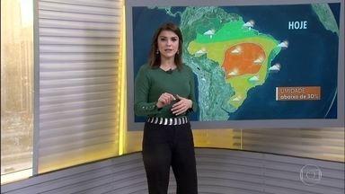 Veja a previsão do tempo para esta terça-feira (19) em todo o Brasil - A dois dias do Inverno, o sul já tem frio intenso, o nordeste tem chuvas e o extremo norte temporais.
