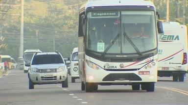 Assaltos a ônibus que fazem rotas para Distrito Industrial assustam passageiros em Manaus - Muitos precisam sair cedo de casa, e é nesse momento que são abordados.