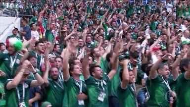 Fifa abre procedimento disciplinar contra o México - O motivo foram os gritos homofóbicos dos seus torcedores na partida contra a Alemanha.