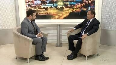 Candidato ao governo do Tocantins, Vicentinho Alves é entrevistado no Jornal Anhanguera - Candidato ao governo do Tocantins, Vicentinho Alves é entrevistado no Jornal Anhanguera