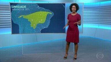 Saiba a previsão para quarta-feira (20) - Sol deve brilhar em boa parte do país no último dia do outono.