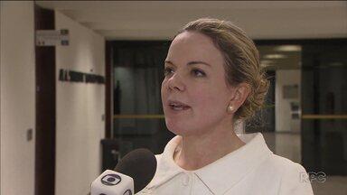 Senadora Gleisi Hoffmann é absolvida em um dos processos da Lava Jato - Gleisi foi acusada de corrupção e lavagem de dinheiro
