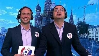 Cascadura Júnior e Caio Ribeiro contam como foram os jogos do 7º dia de Copa do Mundo - Cascadura Júnior e Caio Ribeiro contam como foram os jogos do 7º dia de Copa do Mundo