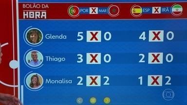Confira o placar do Bolão da Hora nesta quinta-feira (21) - Vai acompanhar os jogos da Copa? Mande seus palpites dos resultados dos jogos pelo VC no Hora1.