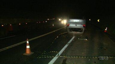 Bandidos tentam assaltar carro forte na BR-277 em Prudentópolis - A rodovia chegou a ser interditada.
