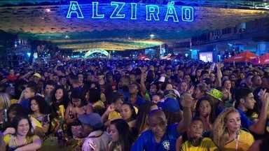 Brasileiros vibram com a vitória da seleção - No Rio, teve festa com rock n'roll. Em São Paulo, a comemoração foi no Vale do Anhangabaú. Em Belém, o carimbó sacudiu a Praça Batista Campos.