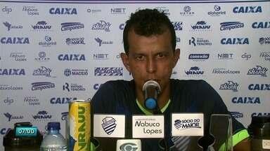 CSA enfrenta o Coritiba pela Série B do Brasileiro - Jogo será realizado na sexta-feira, no Rei Pelé.