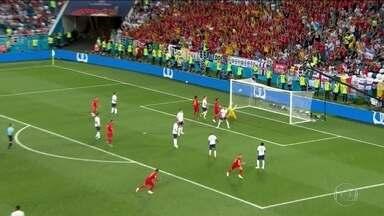 Bélgica vence Inglaterra e se classifica em primeiro no Grupo G - Jogo foi recheado de reservas: Inglaterra deixou oito titulares de fora e a Bélgica, nove. Mas os dois times jogaram para ganhar.
