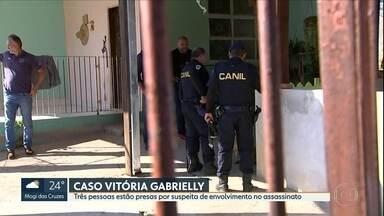 Caso Vitória Gabrielly: casal é preso por suspeita de envolvimento na morte da adolescente - Servente de pedreiro foi indiciado por homicídio doloso.