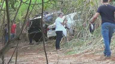 Carros usados por quadrilha que roubou dois bancos são encontrados em Iracemápolis - Caso aconteceu nesta semana em Rio Claro. A Polícia Federal de Piracicaba está investigando o caso.
