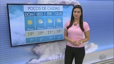 Confira a previsão do tempo para este domingo (1º) no Sul de Minas - Confira a previsão do tempo para este domingo (1º) no Sul de Minas