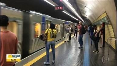 Linha 2-Verde do Metrô teve problemas na volta pra casa - Ocorrência foi na noite da segunda-feira, 2 de julho.
