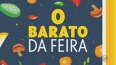 Confira quais frutas, verduras e legumes estão mais baratos nas feiras de Ribeirão Preto - Limão taiti, laranja pera, manga palmer, rabanete, couve-flor, repolho e milho verde estão mais em conta.