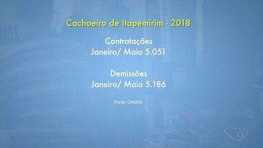 Depois de 3 anos, pela 1ª vez, o número de contratações superou o de demissões - Mas Cachoeiro de Itapermirim ainda não acompanha essa realidade.