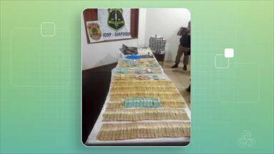 Operação na fronteira apreende R$ 30 mil no Amapá - Operação na fronteira apreende R$ 30 mil no Amapá