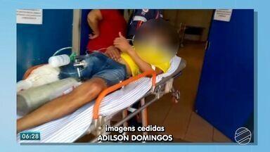 Jovem é baleado durante comemoração de jogo da seleção brasileira em MS - Ainda de acordo com os militares, a vítima foi atingida por um tiro na perna por um homem que chegou ao local e mirou somente nele.